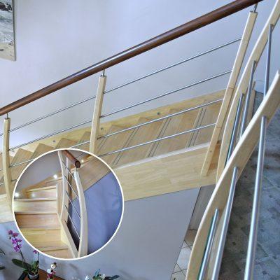 Escaliers Bossard, gamme préférence