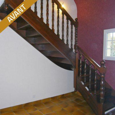 Changez d'escalier, avant travaux