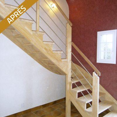 Changez d'escalier, après travaux