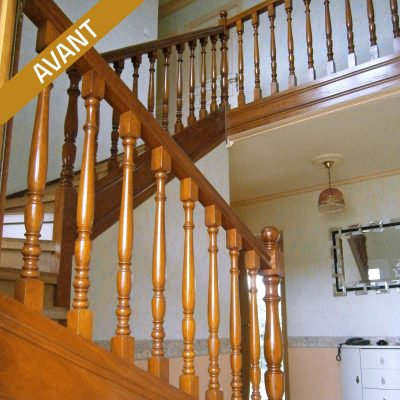 Escalier bossard, avant rénovation