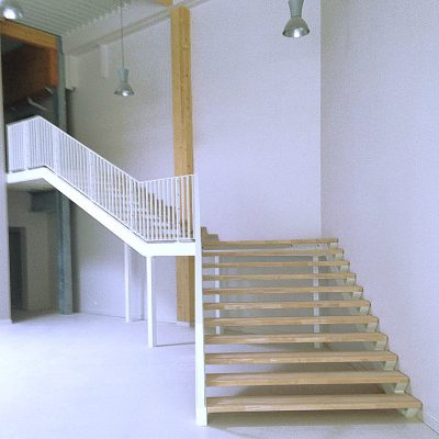 Escaliers pro, affluence