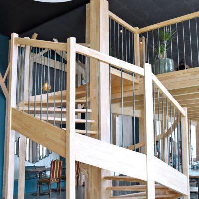 Une réalisation des Escaliers Bossard à La Fabrik à Brest