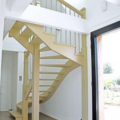 Une réalisation des escaliers Bossard