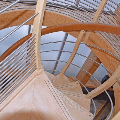 Une réalisation des escaliers Bossard à Plougastel