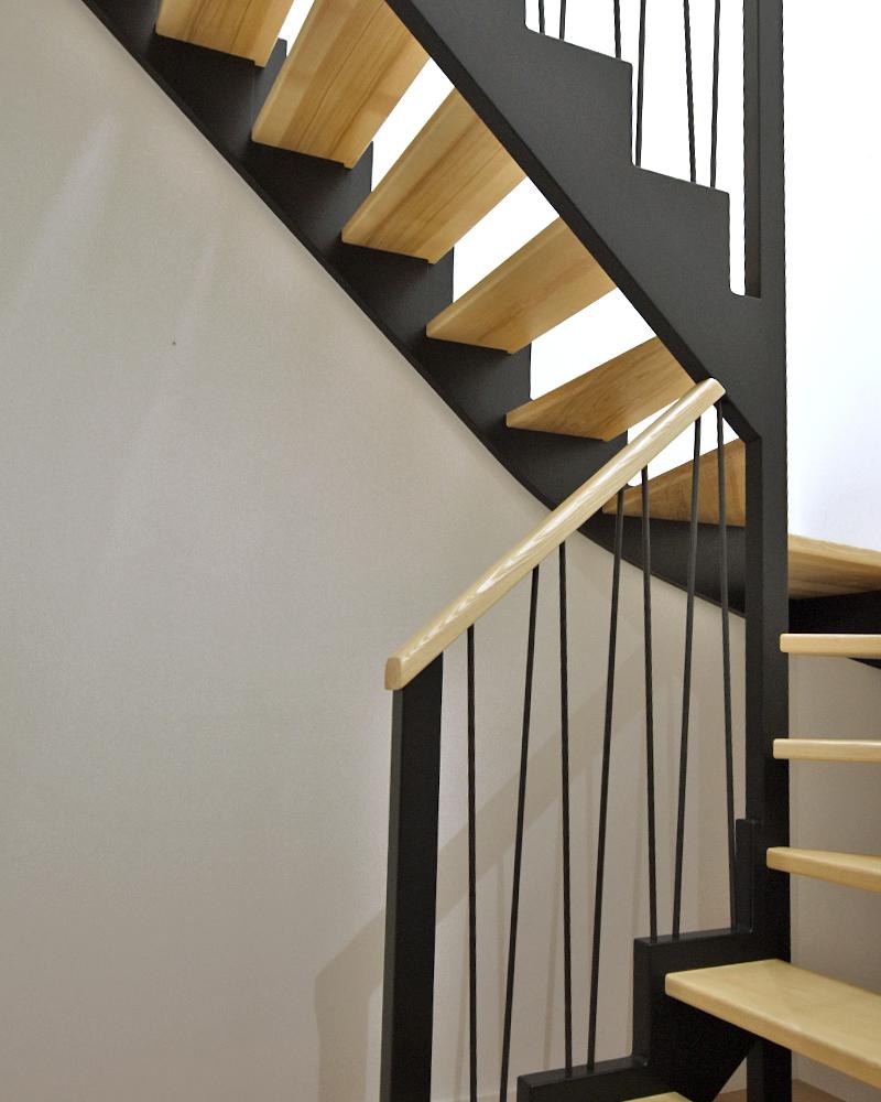 Escalier Bossard, gamme Audacieux, n°06