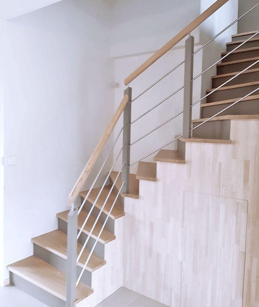 Escalier Bossard, gamme Audacieux, n°09
